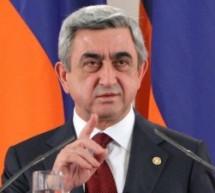 Serj Sarkisyan: Ankara, Ermenistan'la ilişki tesis etmeye hazır değildi