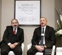 Pashinyan meets with Aliyev in Davos