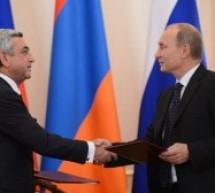 Ermenistan Rusya'ya teslim oldu